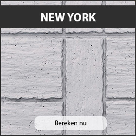 Beton schutting New York Motief
